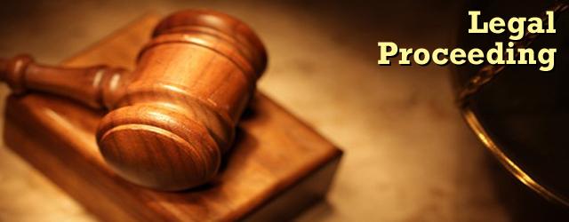 LegalProceeding