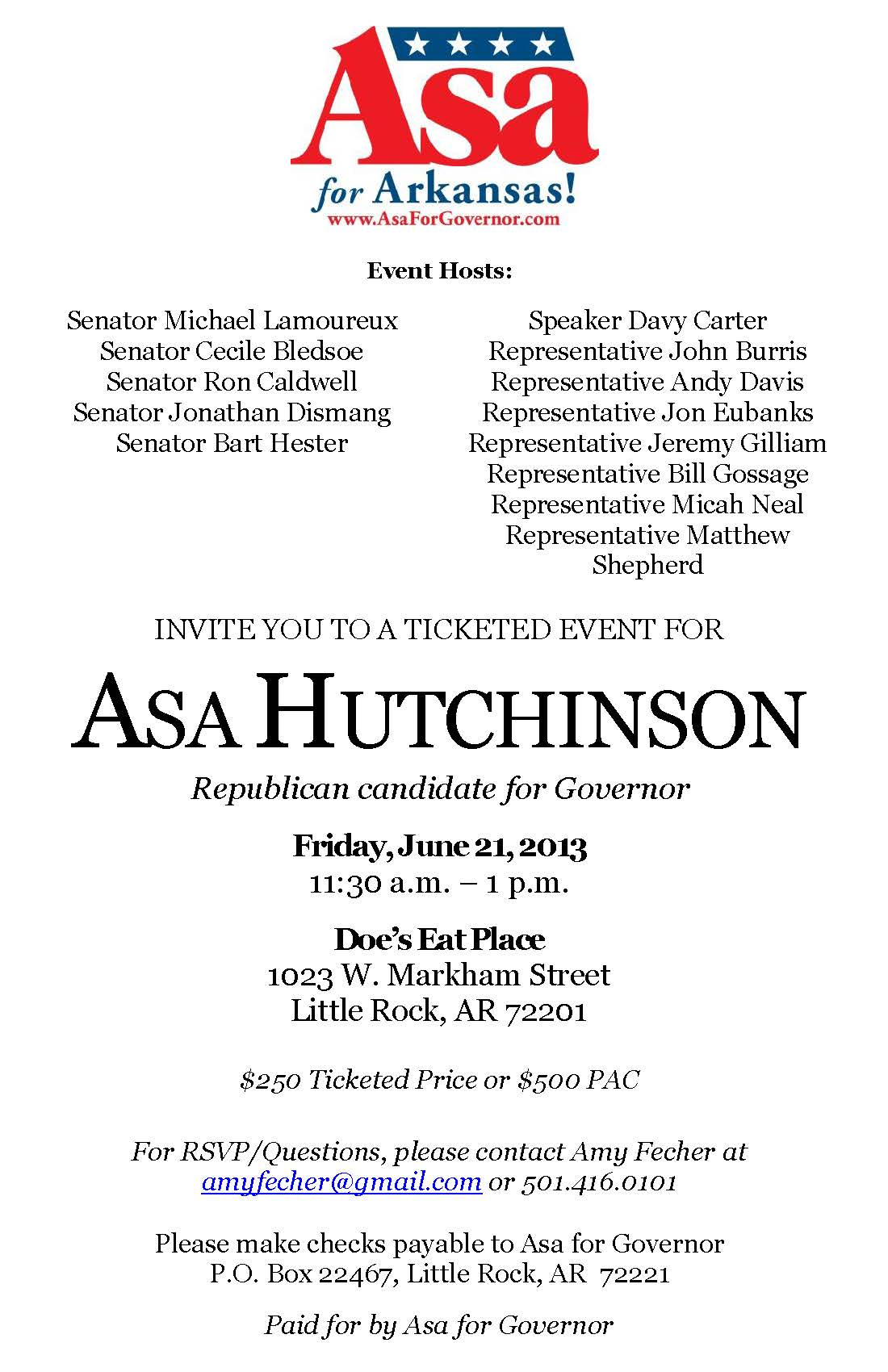 InviteAsaHutchinson