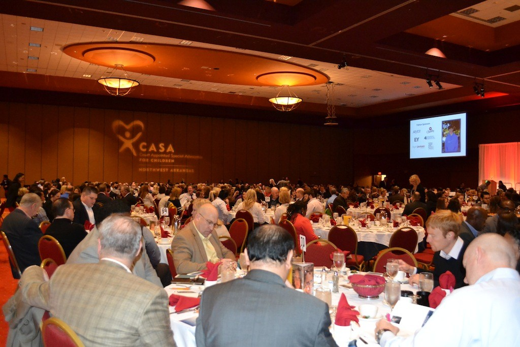 Approximately 700 people attended the Light of Hope breakfast in Rogers on Tuesday (Nov. 17).
