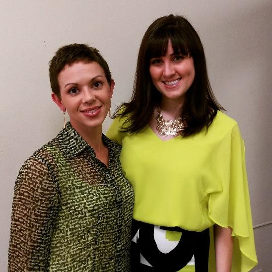 Jennifer Barker (left) and Brittany Hodak