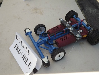 Double Trouble won the Power Tool Racing Tournament.