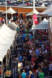 A sold-out crowd of 2,000 enjoyed the evening at The Taste of Northwest Arkansas.
