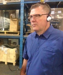 U.S. Rep. Rick Crawford, R-Jonesboro, on Monday toured Hytrol's manufacturing plant in Jonesboro.