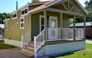 Eagle Homes has four models available for viewing, including this one.