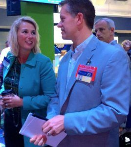 Sam's Club executive vice president and chief merchandising officer, speaks to suppliers and the local business community in Bentonville on Wednesday (Oct. 11) about the retailer's game plan.