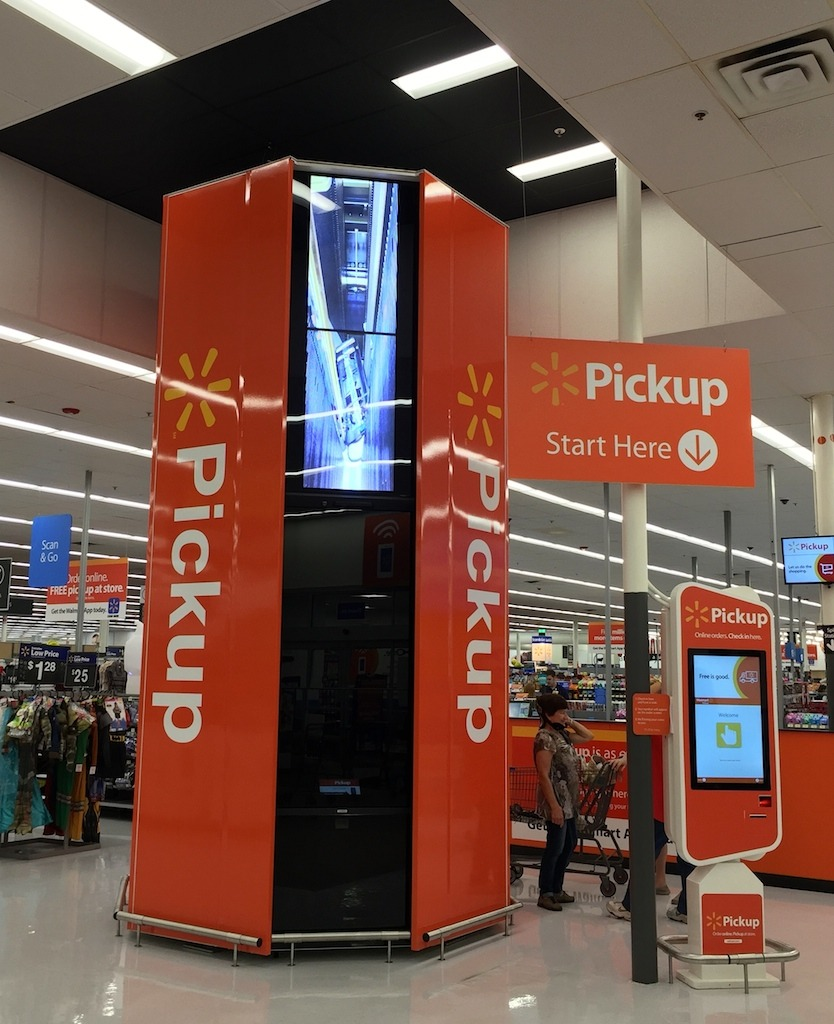 Walmart US Tests New Collection Device For Online Pickup In Rogers - Invoices free online walmart online shopping store pickup