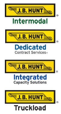 brokerages such as jb hunts offer a fixed rate to deliver freight and 75 of the companys rates are set by contract and in the fourth quarter when