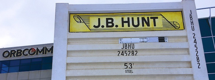 J.B. Hunt hosts shareholders meeting, stock down nearly 9% since Monday thumbnail