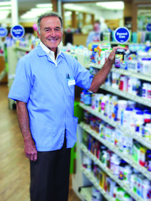 hes been semi retired for a decade but still works regularly as a relief pharmacist when - Cvr Pharmacy