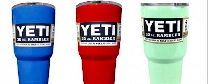 Yeti sues Wal-Mart for copyright infringement on tumbler knockoffs