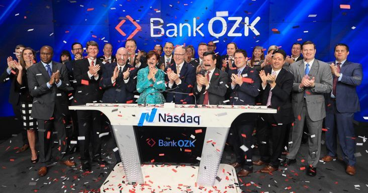 Bank Ozk Rings Opening Bell To Celebrate Rebranding New Ticker