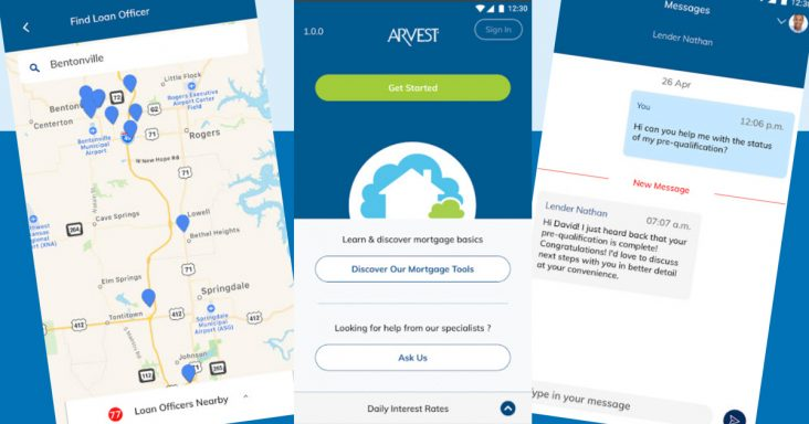 Arvest Bank enters digital mortgage arena with new mobile