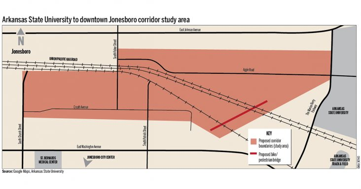 Asu Jonesboro Campus Map.Committee Studying Possible Asu To Downtown Jonesboro Corridor
