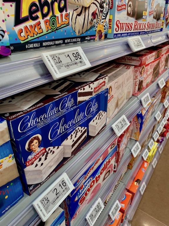 Walmart conducting pilot test of electronic shelf labels, LED strips ...