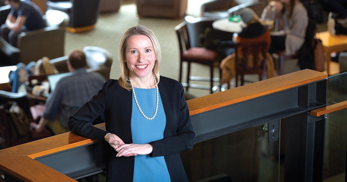 Margaret Sova McCabe continues legacy of law school leadership at University of Arkansas thumbnail