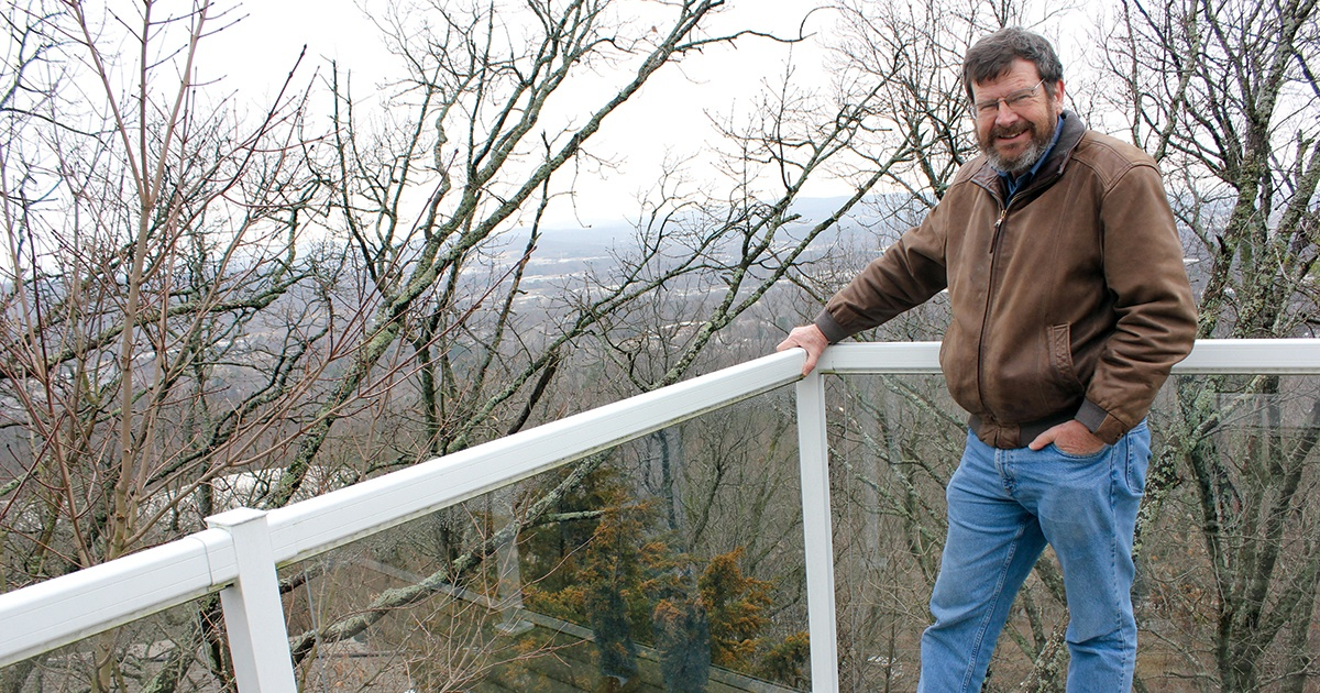 Rooftop solar array powers hilltop home, electric cars of Fayetteville entrepreneur thumbnail