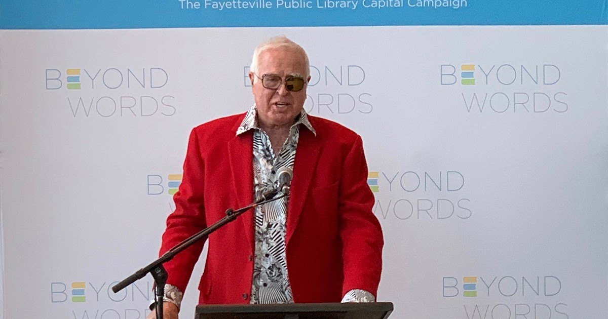 Jim Blair bolsters Fayetteville Public Library's capital campaign with $2 million donation thumbnail