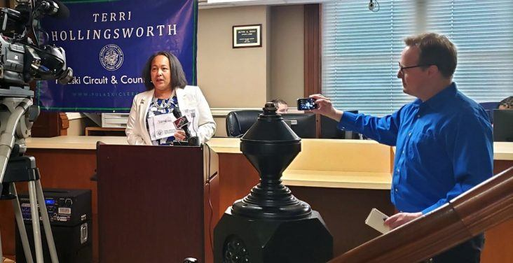 Pulaski County election chief asks 57,000 voters to return