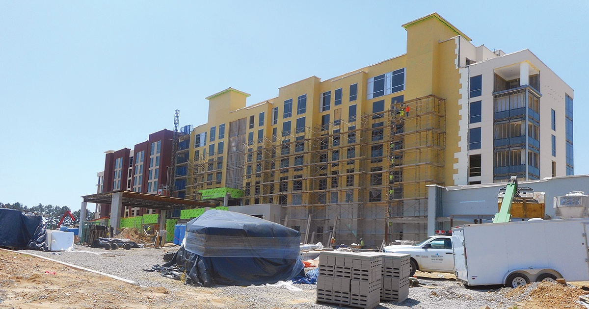 ASU campus hotel-convention center project slowed by rain thumbnail