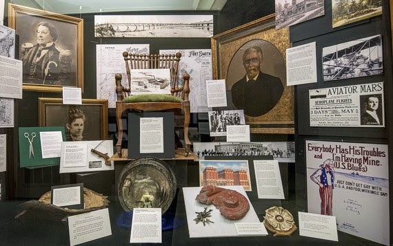 Fort Smith history focus of new exhibit in the state Capitol Building