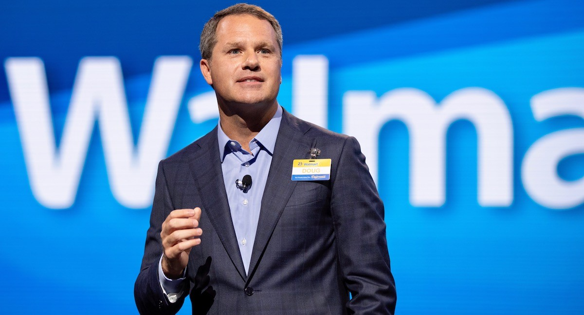 Walmart execs talk about taking risks, trade issues at shareholder rally and analyst meeting thumbnail
