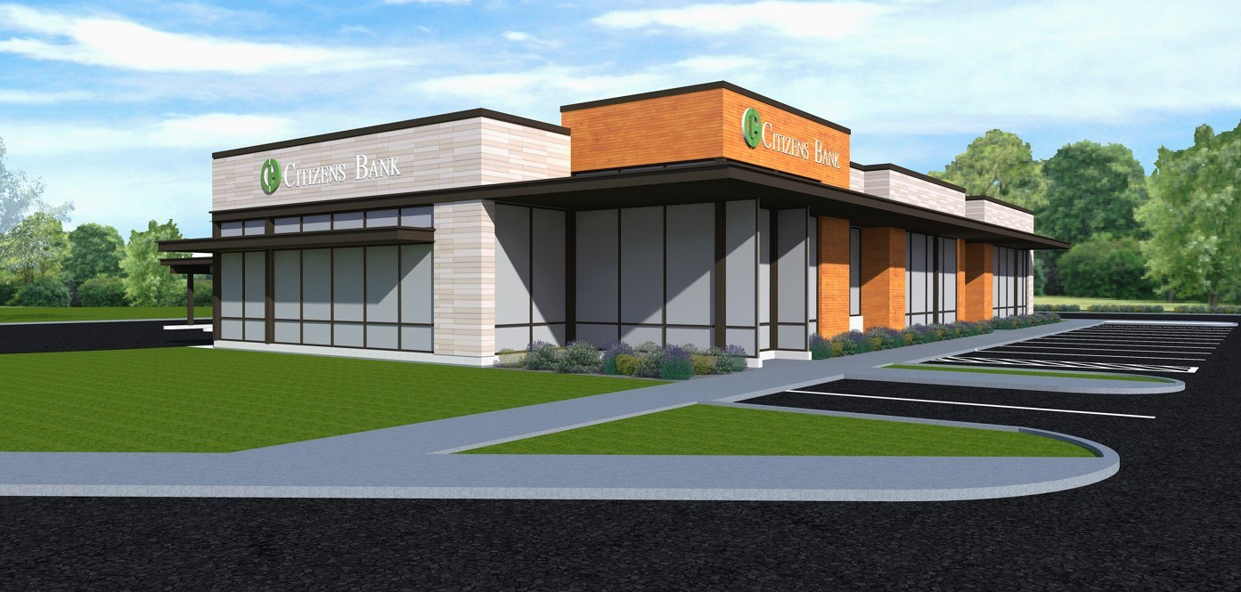 Citizens Bank building new location in Monticello thumbnail