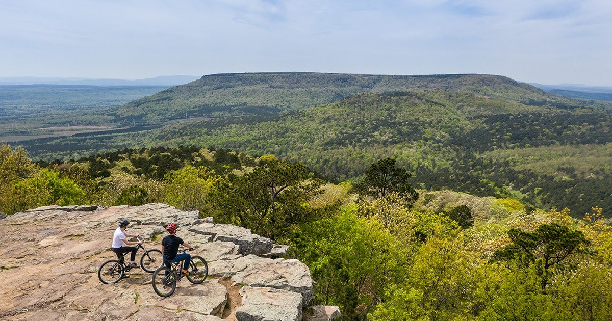 Mountain bike path opens previously inaccessible areas of Mount Nebo Exclaim Park thumbnail