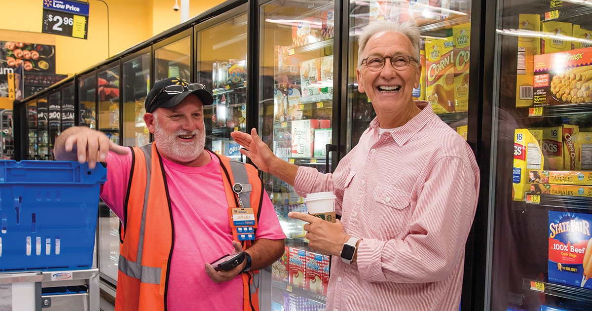 Store walks never go out of style for retired Walmart execs - Talk