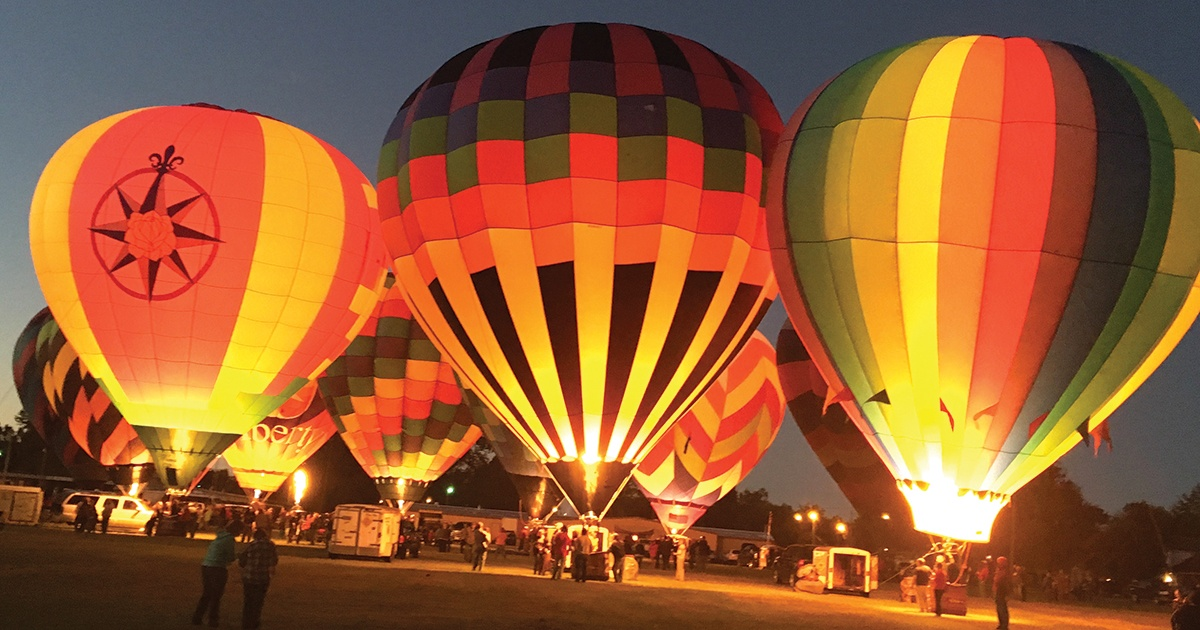 Hot air balloon festival to bring 5,000 to NWA