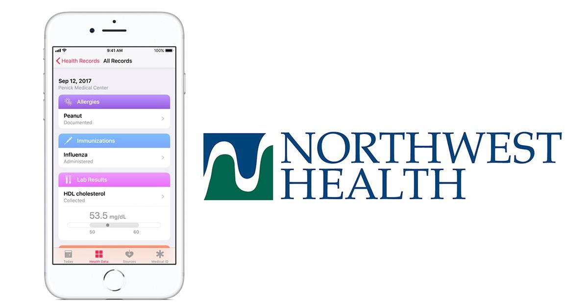 Northwest Well being helps files entry on iPhone thumbnail