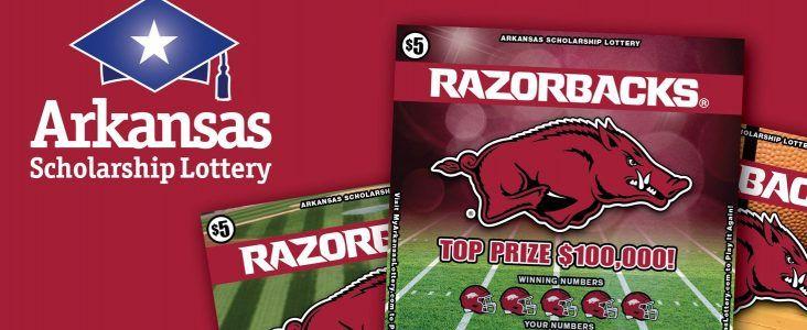 Arkansas Scholarship Lottery launches Razorback scratch-off
