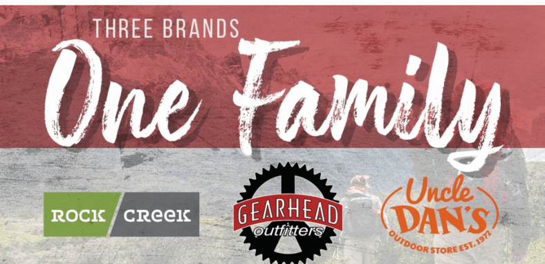 Gearhead Outfitters acquires Rock/Creek Outfitters, Uncle Dan's Initiate air Store thumbnail