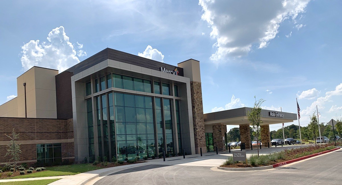 Mercy officials talk about Rogers hospital expansion opening, staffing new clinics