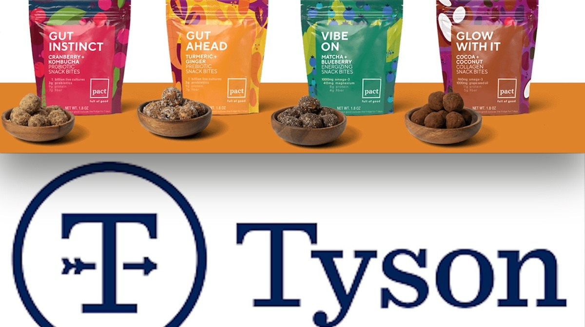 Tyson Foods enters the 'functional' food realm with a new snack brand