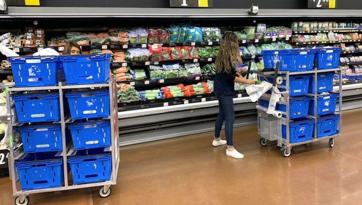 Walmart to expand online order fulfillment system