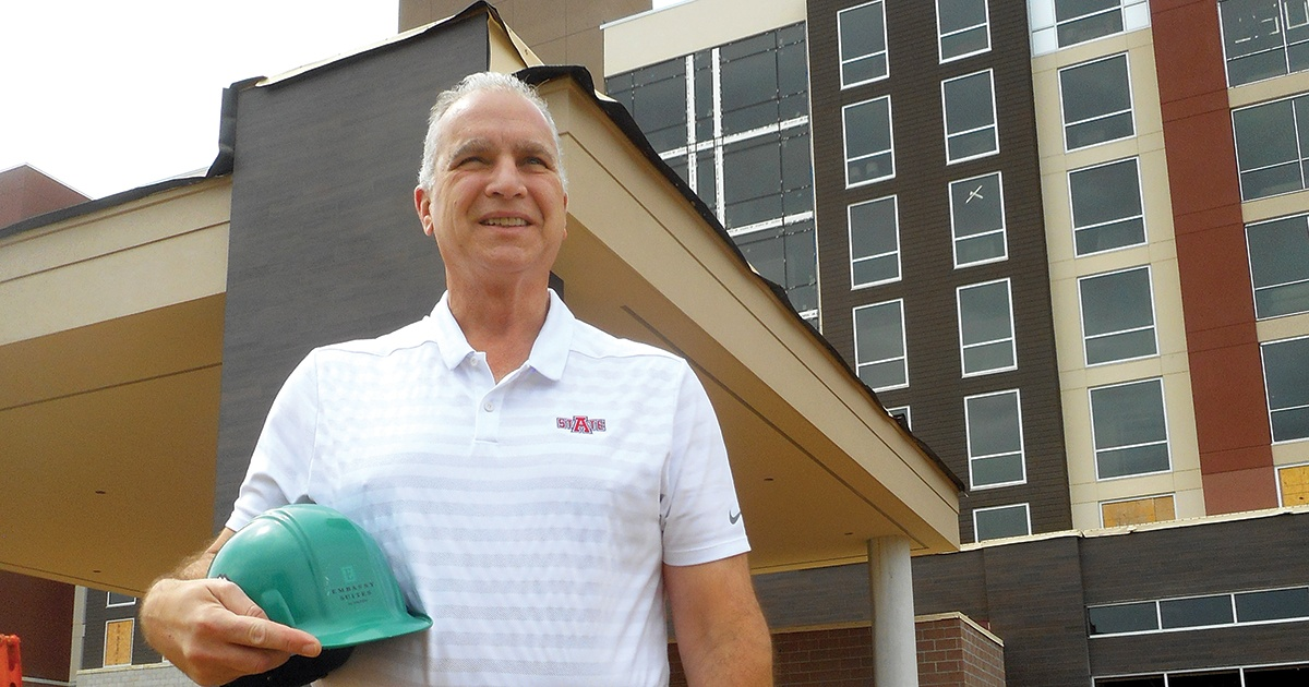 As major commercial projects near completion in Jonesboro, no slowdown is anticipated