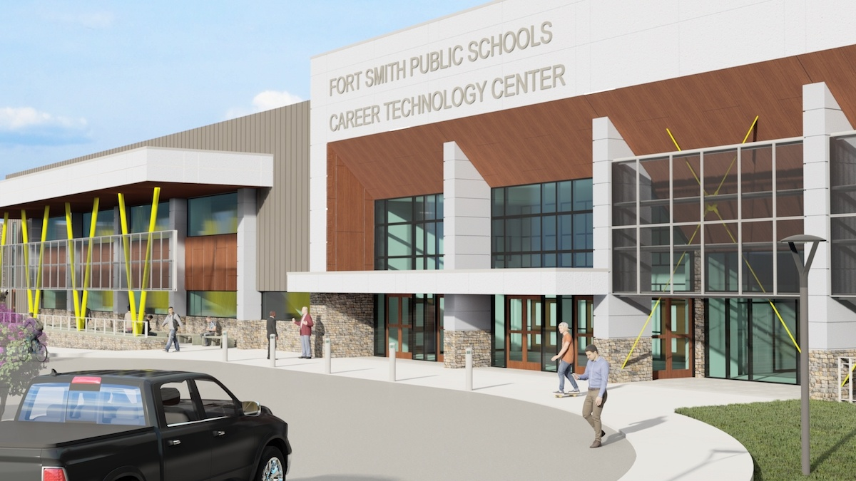 Gov. Hutchinson commits $2.1 million to support career and technology center