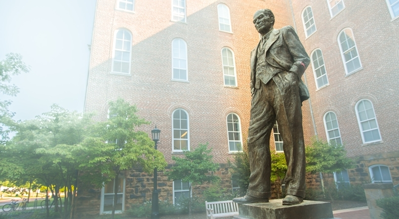 UA trustees keep Fulbright College name, statue in place