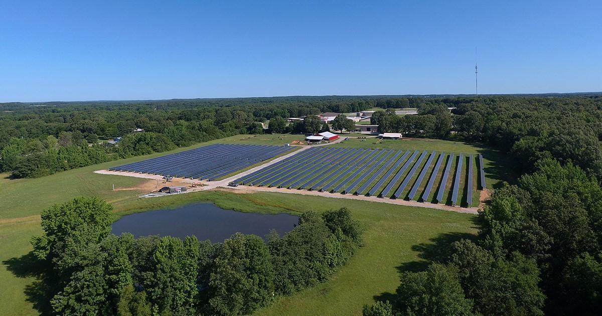 Audubon solar plant to meet 100% of Little Rock center's power demand; solar equipment partnership announced - Talk Business & Politics